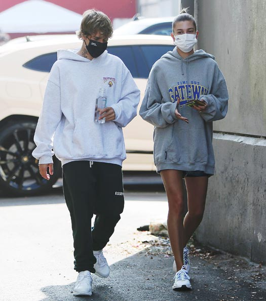 Justine Bieber & Hailey Bieber