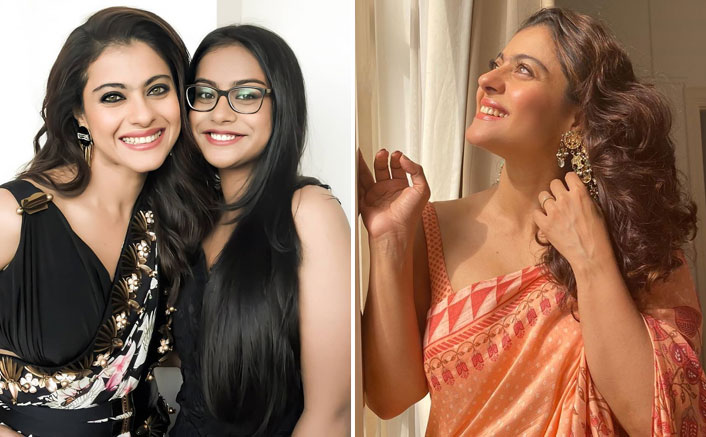 Kajol Decks Up In A Saree Clicked By Her In-House Photographer In Daughter Nysa