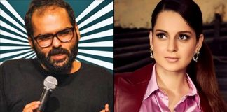 Kangana in Twitter battle with comedian Kunal Kamra
