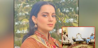 Kangana meets Maha Governor, requests 'justice be given to me'