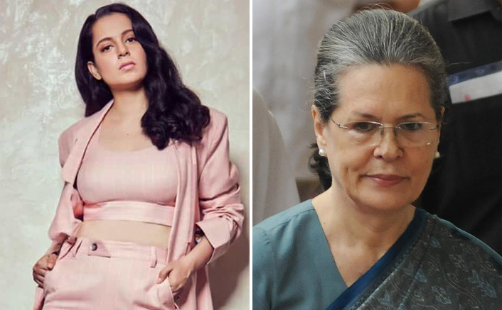 """Kangana Ranaut Seeks Help From Sonia Gandhi: """"Being A Woman Aren't You Anguished By The Treatment I Am Given By Your Government"""""""