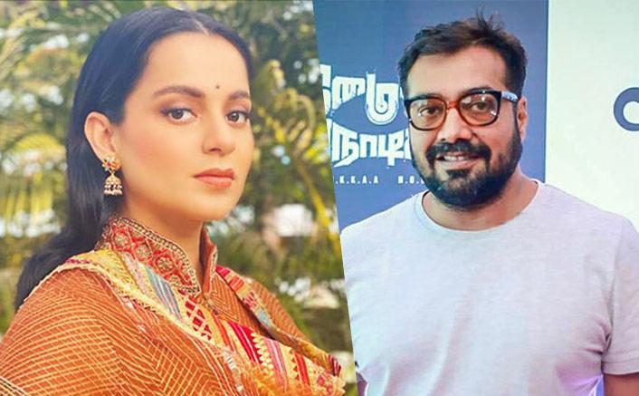 Kangana Ranaut Suggests Anurag Kashyap To Drink 'Hot Haldi Milk'; Says She's Not 'Ladaku'(Pic credit: Instagram/kanganaranaut)
