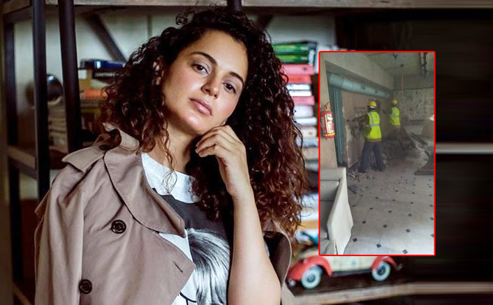 Kangana Ranaut's Lawyer To File Criminal Case Against BMC For Demolishing The Actress' Office