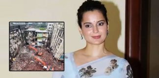 Kangana takes a dig at Maha govt after Bhiwandi building collapse