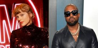 Kanye West Keeps His Promise & Supports Taylor Swift In Getting Her Masters Back