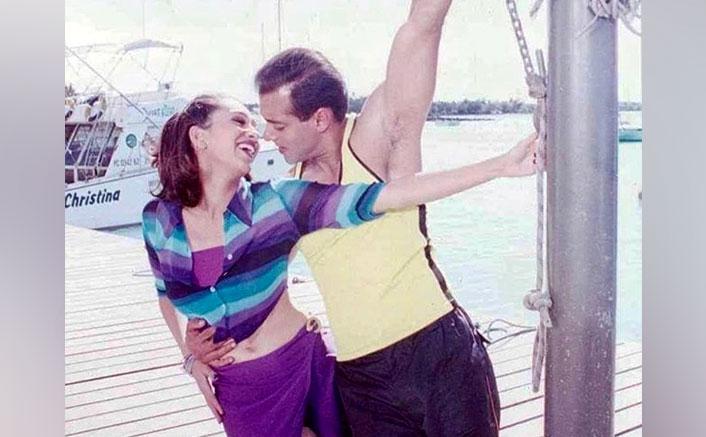 Karisma Kapoor Gets Nostalgic About When Salman Khan Made Her Laugh While Shooting Dulhan Hum Le Jayenge