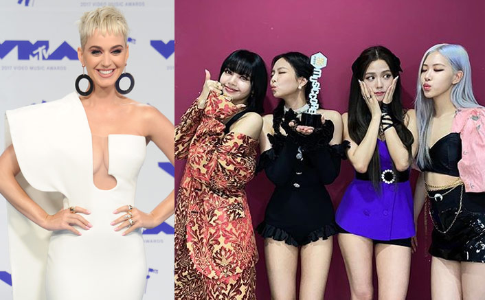 "Katy Perry On Collaborating With Blackpink: ""If Blackpink Has The Dopest Song That Makes Me Feel Sexy, I'm totally There.""(Pic credit: Instagram/blackpinkofficial, Getty Images)"