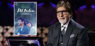 KBC 12: Amitabh Bachchan Asks First Contestant A Question On Sushant Singh Rajput's Dil Bechara