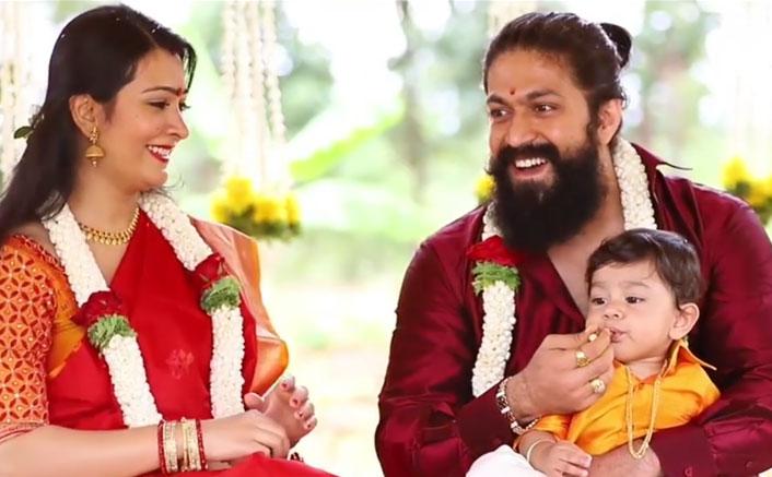 KGF's Yash Names Son With Radhika Pandit Yatharv, Shares The Same Via A Cute Video