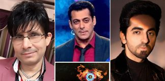 KRK Demands Ban Of Salman Khan's Bigg Boss 14, Says 'Aa Thoo' To Ayushmann KhurranaKRK Demands Ban Of Salman Khan's Bigg Boss 14, Says 'Aa Thoo' To Ayushmann Khurrana