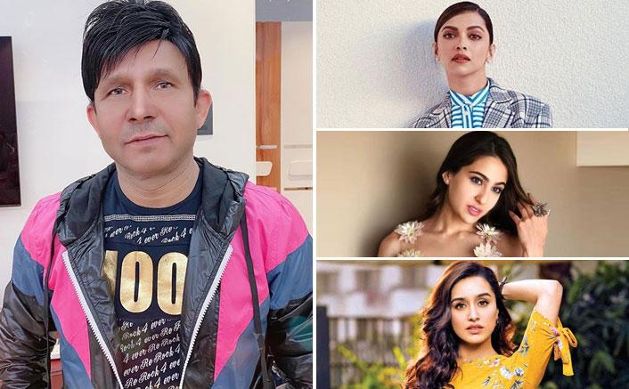 """KRK Shames Deepika Padukone, Sara Ali Khan Over Drug Involvement: """"Bollywood Ki Choriyan, Choron Se Kam Thode Hai"""""""