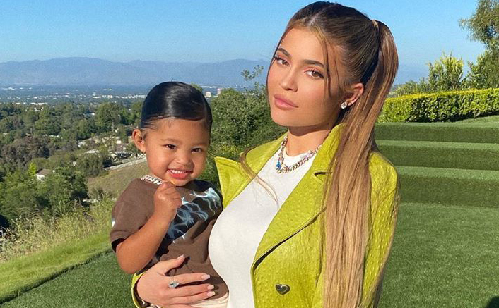 Kylie Jenner & Daughter Stormi Webster's Playful Tussle Is Winning The Internet, WATCH