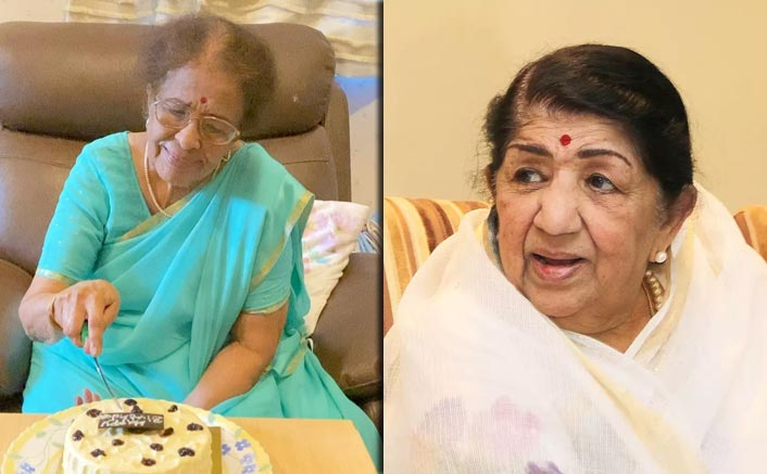 Lata Mangeshkar Pours Blessings On Sis Meena Khadikar's Birthday!