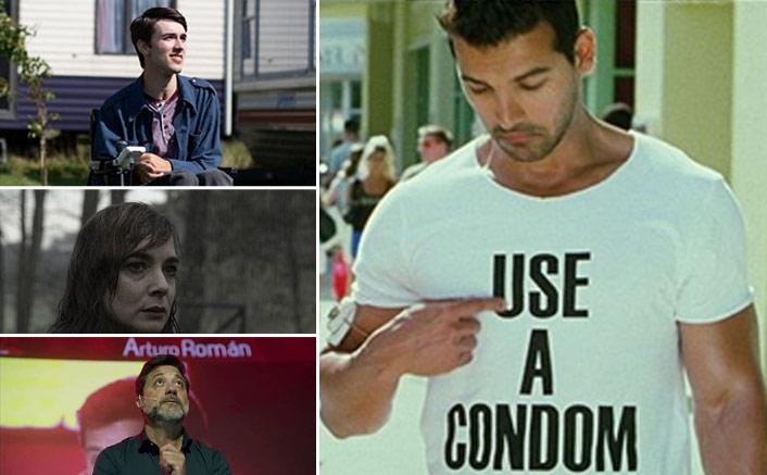 Meme Ft John Abraham & His C*ndom T-shirt With Money Heist's Arturo, Dark's Hannah & Sex Education's Isaac Is DEEP!(Pic credit: Instagram/georgerossrobinson, majaschone, enriquearceactor, netflix_in)
