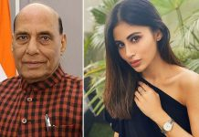 Mouni Roy Gets Trolled For Tagging Defence Minister Rajnath Singh In Her Social Media Post