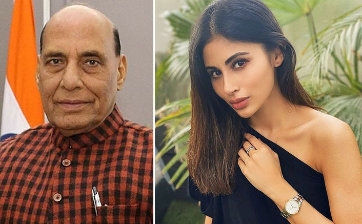 Mouni Roy Gets Trolled For Tagging Defence Minister Rajnath Singh In Her Social Media Post(Pic credit: Instagram/imouniroy)