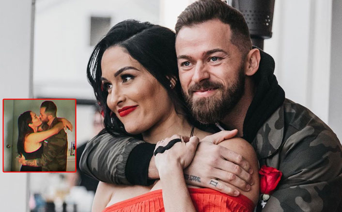 Nikki Bella Grabs Artem Chigvintsev's A*S In A VIRAL Video As They Enjoy A Make Out Session!
