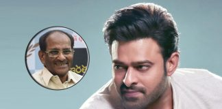 """No wonder Prabhas is one of the biggest box office draws in India"", says Baahubali writer Vijendra Prasad"
