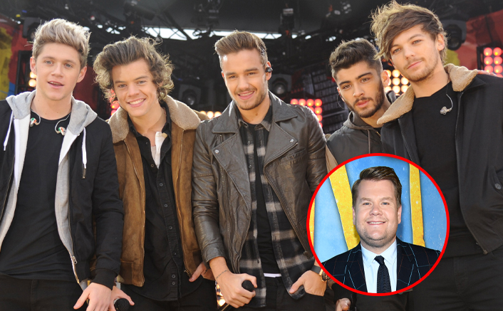One Direction Fans TARGET James Corden Over Not Releasing UNSEEN Footage Of Harry Styles & Team!