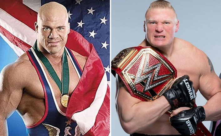 Pay $10-20 Million To See Brock Lesnar In AEW, Says WWE Legend Kurt Angle