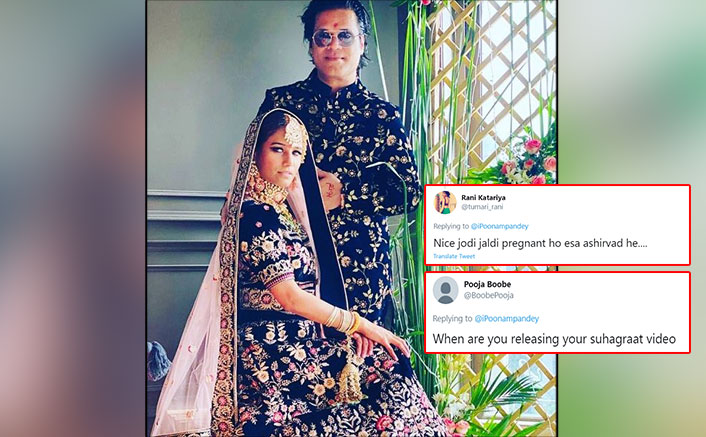 Poonam Pandey Marries Sam Bombay & Netizens Are Surely Having A Field Day
