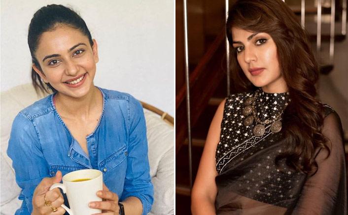 Rakul Preet Singh BREAKING! Actress Confesses Of Drugs Being Recovered Belong To Rhea Chakraborty? (Pic credit: Facebook/Rhea Chakraborty, Rakul Preet)