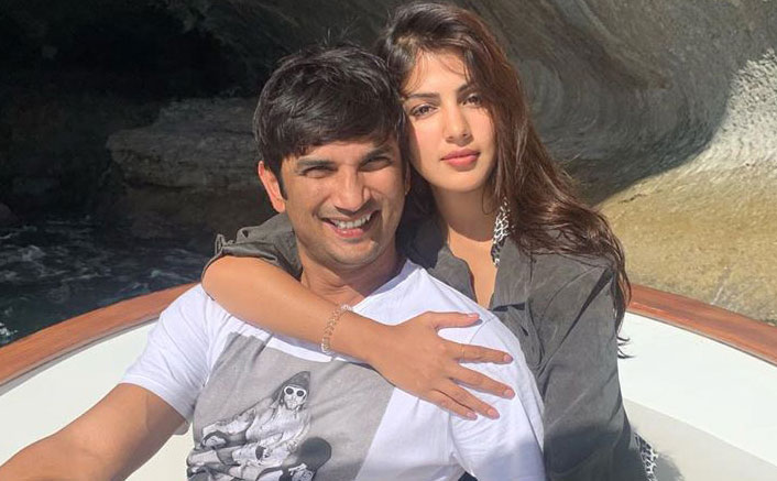 Rhea Chakraborty Smokes Rolled Cigarette With Sushant Singh Rajput; UNSEEN Video Is Breaking The Internet
