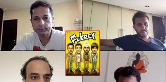 Ritesh Sidhwani shares a glimpse from narration time with team Fukrey 3