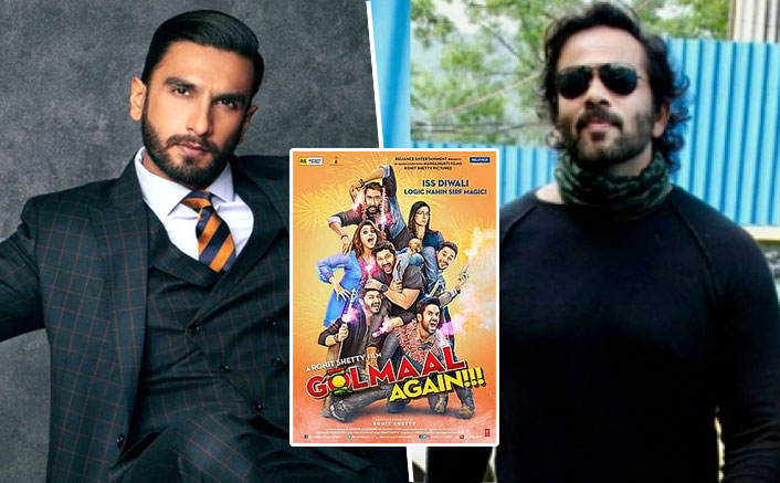 Rohit Shetty & Ranveer Singh To Reunite For A GRAND Comedy But There's A Sad News For Golmaal Fans!
