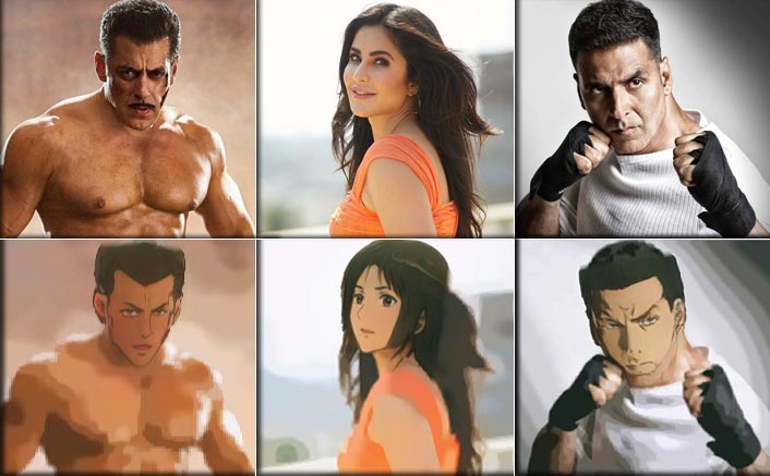 Salman Khan, Akshay Kumar To Katrina Kaif, Here's What Happened When We Tried The Latest 'Anime' Feature On Them