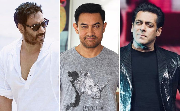 Salman Khan Has 3 Films In Top 10 Bollywood Grossers, Check Out The Scorecard Of Other Actors - Box Office(Pic credit: Facebook/Salman Khan, Aamir Khan, Ajay Devgn)