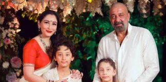 Sanjay Dutt & Maanayata Fly To Dubai To Meet Their Kids Shahraan & Iqra, Check Out!