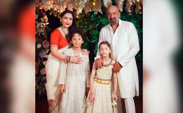 Sanjay Dutt reunites with kids in Dubai after months(Pic credit: Instagram/duttsanjay)