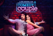 Shweta Basu Prasad did her make-up for 'Comedy Couple'