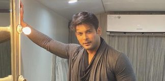 Sidharth Shukla's shoot mode is on