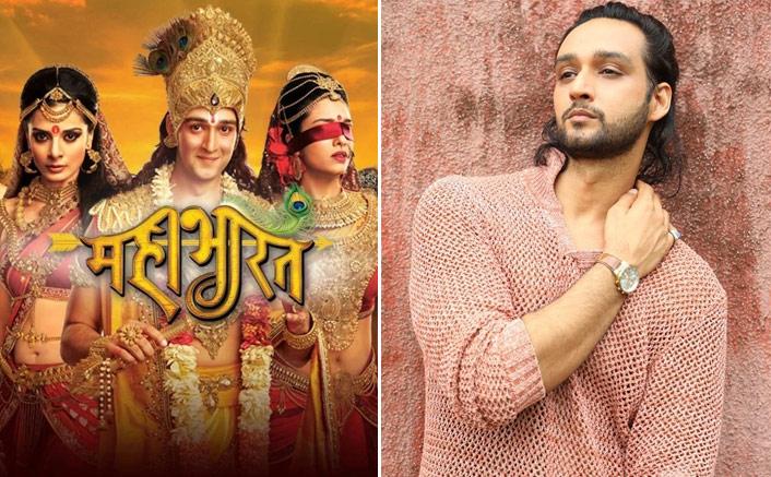 Sourabh Raaj Jain gets nostalgic on Mahabharat completing 7 years today! (Pic credit: Instagram/sourabhraaj.jain)