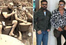 Suniel Shetty celebrating 45 years of friendship with Jackie Shroff