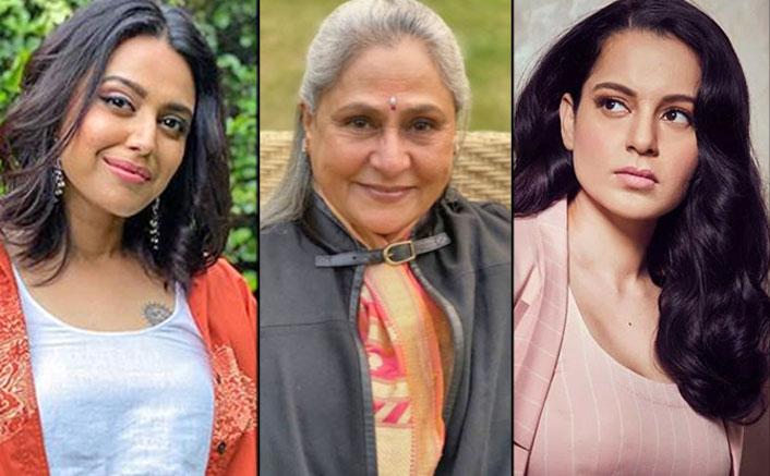"Swara Bhasker SLAMS Kangana Ranaut Over Jaya Bachchan Row: ""Respecting Elders Is The First Lesson Of Indian Culture"""