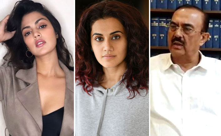 """Taapsee Pannu On Sushant Singh Rajput's Family Lawyer's Statement On Rhea Chakraborty's Arrest: """"So She Was Neither A Gold Digger..."""""""