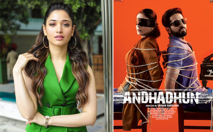 Tamannaah Bhatia Opens Up On Reprising Tabu's Role In The Telugu Remake Of Andhadhun