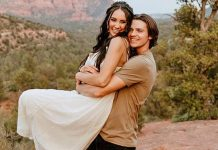 The Kissing Booth's Joel Courtney AKA Lee Flynn Weds Mia Scholink & Their FIRST Pictures Are Straight Out Of A Fairytale