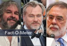 The Lord Of The Rings Maker Peter Jackson Leads In All-Time Highest Rated Films' List - [Fact-O-Meter]