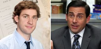 "The Office: John Krasinski Imitates Steve Carell In Today's #MondayMotivation & ""Identity Theft Is Not A Joke Jim"""