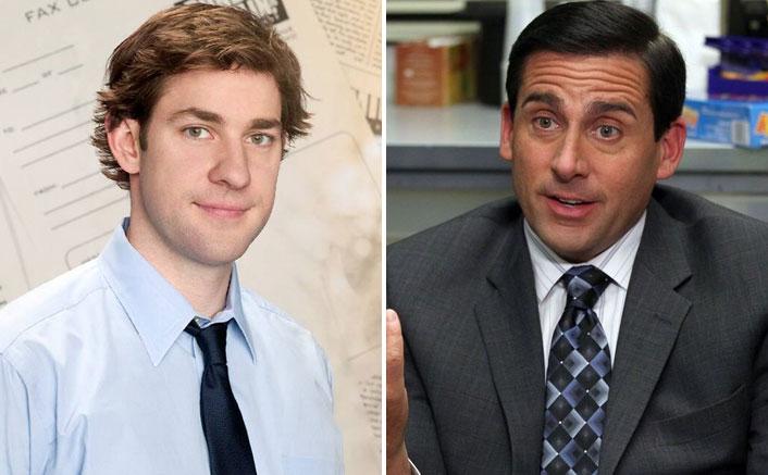 "The Office: John Krasinski Imitates Steve Carell In Today's #MondayMotivation & ""Identity Theft Is Not A Joke Jim"""