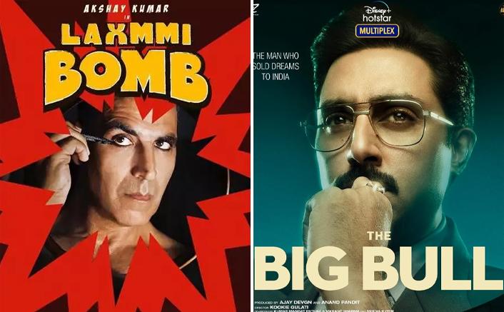 Laxmmi Bomb To Big Bull: Upcoming OTT Movies Of Mega Stars You Shouldn't Miss!
