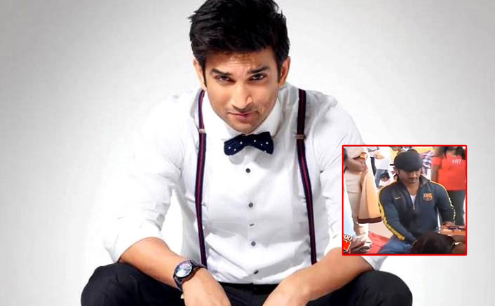 When Sushant Singh Rajput Entertained Blind School Kids While Shooting For Dil Bechara