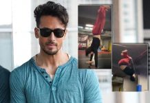 Tiger Shroff does continuous backflips with ease