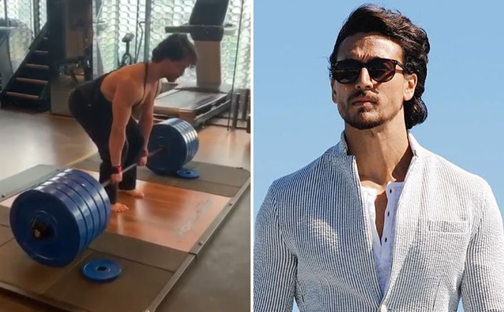 Tiger Shroff Nails The Extremely Difficult 220 Kilos Deadlifts, Video Inside!