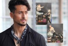 Tiger Shroff shares flying kick video after injury