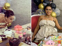 TV star Nia Sharma turns 30, colleagues shower love